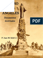 El Cerro de los Angeles documentos doctrinales SOLA