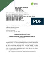 Comunicación Conjunta 1-18. Convivencia en la Escuela.doc