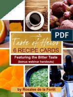 Taste of Herbs Webinar Download