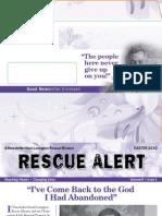 Easter 2010 Rescue Alert Newsletter, Lexington Rescue Mission