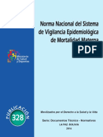 Dgss Acon Norma Nacional de Vigilancia
