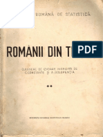 Românii Din Timoc Ianuarie 1944