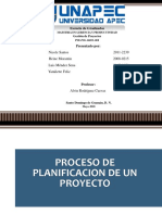 PPT Proceso de Planificacion