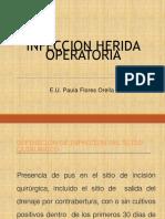 INFECCION HERIDA OPERATORIA
