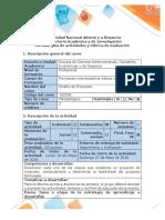 Guía de actividades y Rubrica de evaluaciòn fase 4 - Revisión Final