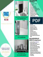 Sistema de Filtracion y Purificacion de Agua Residencial.