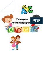 conceptos psicopedagogicos
