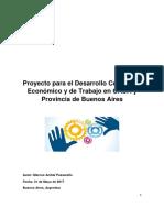 Proyecto Para El Desarrollo Comercial, Económico y de Trabajo en CABA