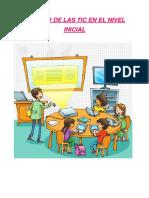 Las Tecnologías de Información y Comunicación EDUCACION INFANTIL