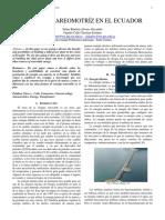 Energia Mareomotriz en El Ecuador