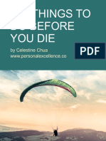 101 Things to Do Before You Die Personal Excellence eBook