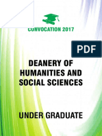 5. Deanery of Humanities & Social Sciences (UG-PG)