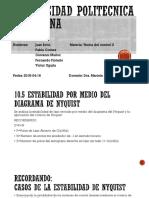 10.5 Estabilidad de Nyquist
