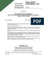 FprHD 60364-7-722