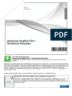 American English File 1 Workbook Resuelto