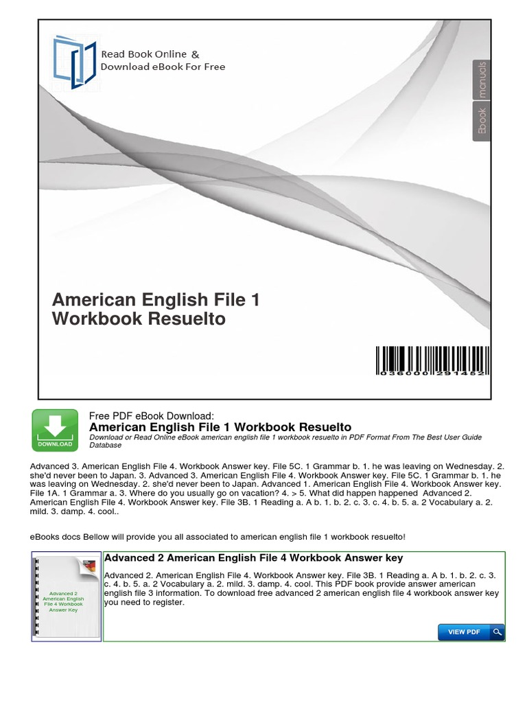 American English File Ebook