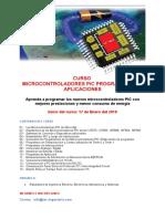 Afiche Microcontroladores PIC Programación y Aplicaciones