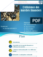 171628491 l Efficience Des Marche Financiers