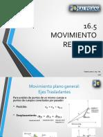 16 5 Movimiento Relativo