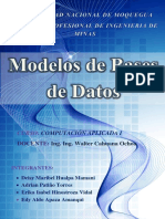 Word de Modelo de Base de Datos