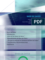 BASE DE DATOS tacna