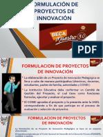 Formulacion de Proyectos de Innovación Ss2