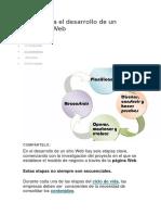 Fases Para El Desarrollo de Un Proyecto Web