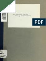 FERREIRA, Ideas y Observaciones 42 Pp