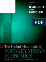 (Oxford Handbooks) G. C. Harcourt, Peter Kriesler-The Oxford Handbook of Post-Keynesian Economics, Volume 1_ Critiques and Methodology-Oxford University Press (2013)