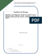 ANALISIS de RIESGO Completo Urb Lopez Albujar