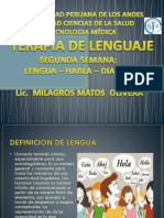 Clase 2. Lengua,Habla,Dialecto