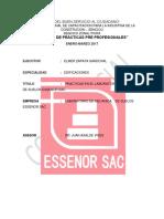 Informe de Prã Cticas Pre Profesionales Elmer 2016[1]