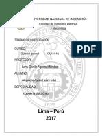 informe quimica materiales modernos