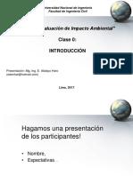 Evaluación de Impacto Ambiental - Mg.ing. E. Atalaya Haro