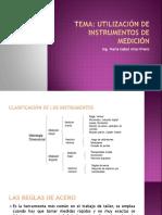 1.1 Utilización de los Instrumentos de medición