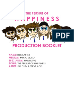 production booklet