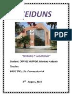 Monografia.natacion Ingles