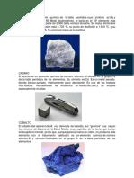 Minerales No Metalicos Enma La Mas Rustica