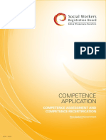 Competence Application Standards 1718