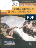 TEORIA GENERAL DEL DERECHO EGACAL  ANIBAL BARRENECHEA SANTILLAN