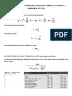 Coeficiente de resistencia K para Válvulas, accesorios y cambios de sección.pdf