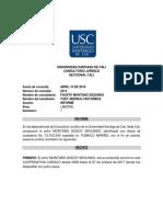 Consultorio Informe Tutela Laboral