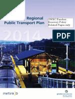 2014 GWRC RPTP - Farebox Recovery Policy