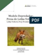 Modelo Depredador-presa de Volterra-Lotka