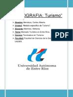 Monografía TURISMO