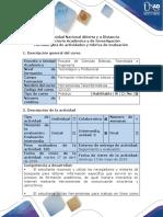 Guía de Actividades y Rúbrica de Evaluación - Ciclo de La Tarea 3