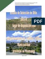 01. Informe de Selección de Sitio_Lindipampa