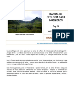 manual de geología para ingenieros