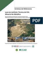 EIA MANUAL DE ESTRUCTURA DE EIA MINERÍA METÁLICA Y NO METÁLICA.pdf