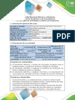 Guía de Actividades y Rubrica de Evaluación - Actividad 7 - Fase Final - Consolidar El Proyecto Final